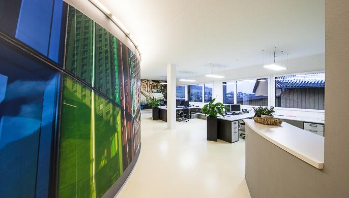 Büroräume Bättig Stocker Architektur AG