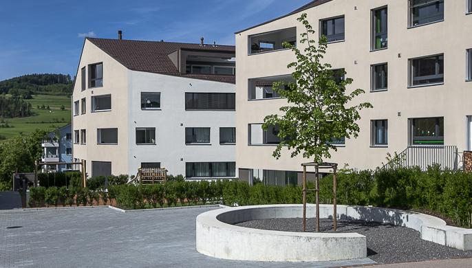 Rössli Rickenbach: Wohnen mitten im Dorf