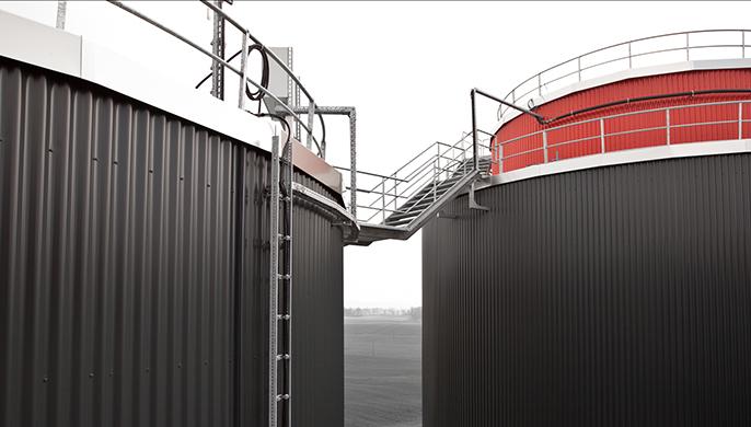 Biogasanlage der Gefu Oberle AG