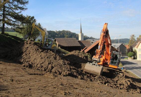 Baustart Mehrfamilienhaus